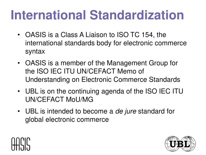 International Standardization