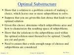 optimal substructure5