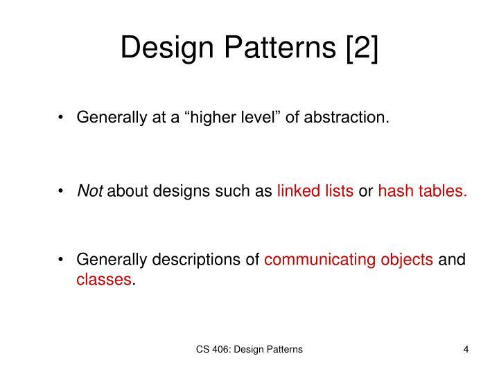 Design Patterns [2]