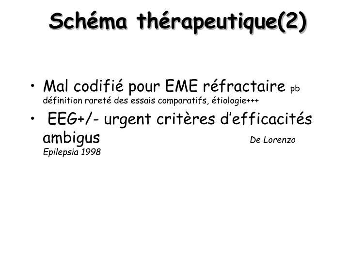 Schéma thérapeutique(2)