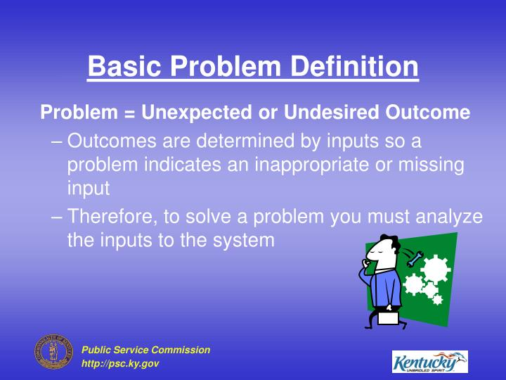 Basic Problem Definition