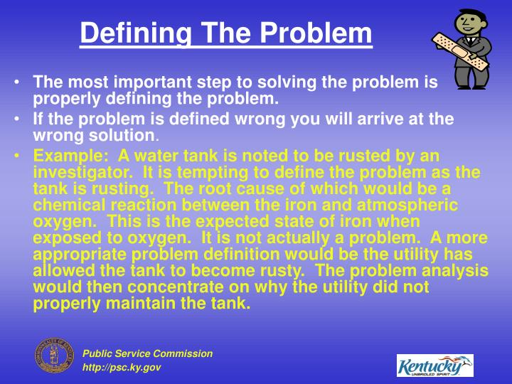 Defining The Problem