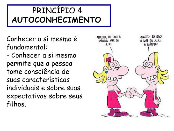 PRINCÍPIO 4