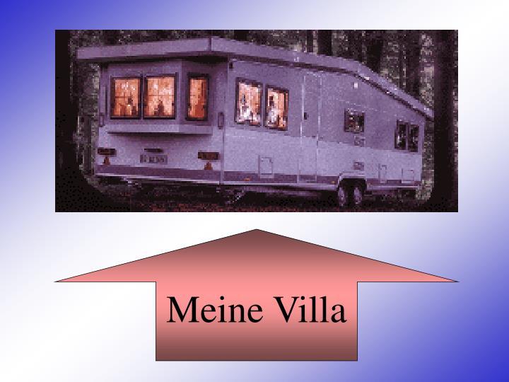 Meine Villa