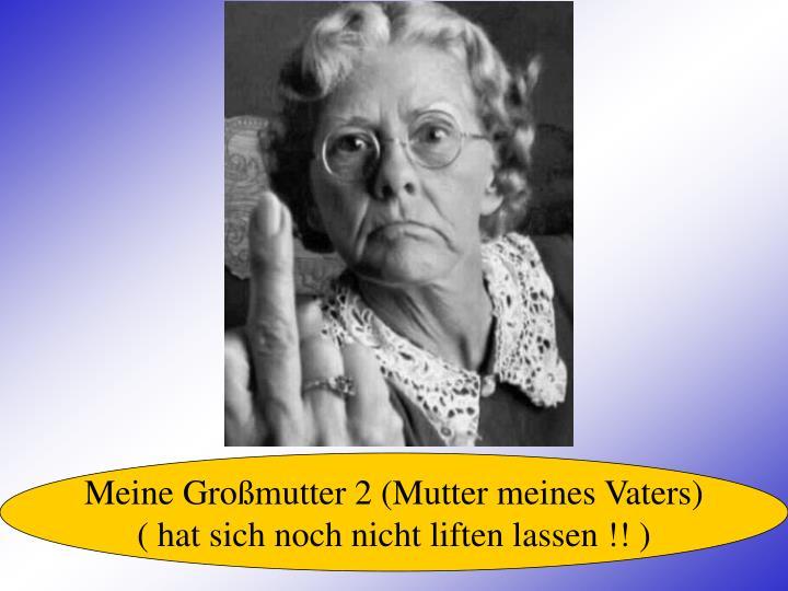 Meine Großmutter 2 (Mutter meines Vaters)