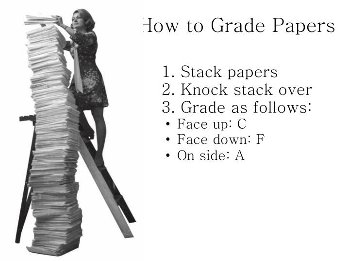 How to Grade Papers
