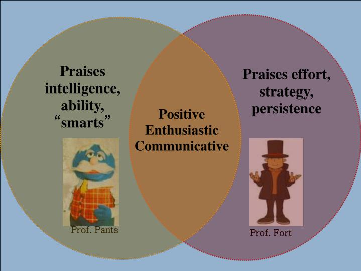 Praises intelligence, ability,