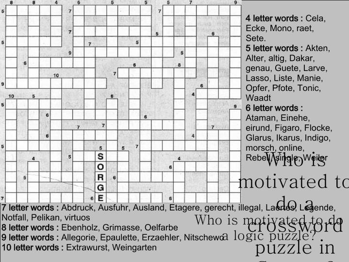 4 letter words :
