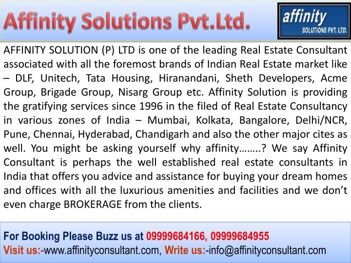 Affinity Solutions Pvt.Ltd.