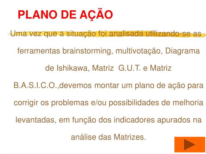 PLANO DE AO