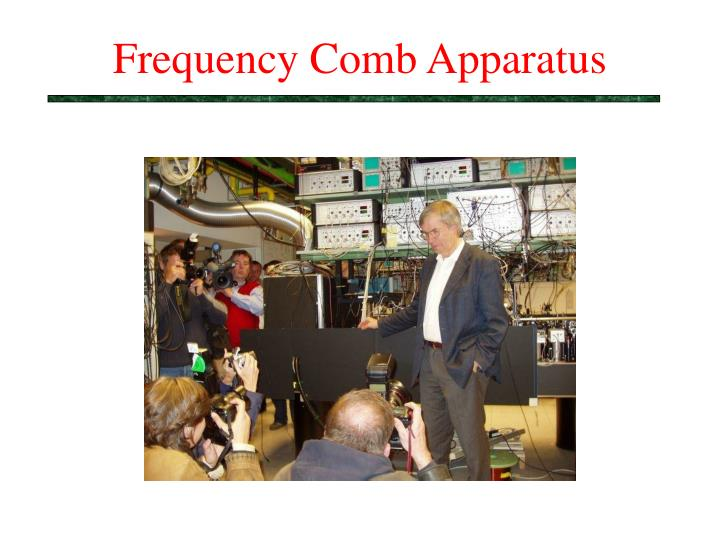 Frequency Comb Apparatus