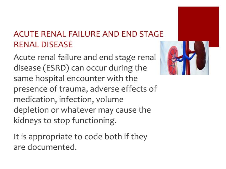 end stage renal diease We can no longer ignore the impact of depression on end-stage renal disease patients appropriate therapeutic regimens and trials need to be explored.