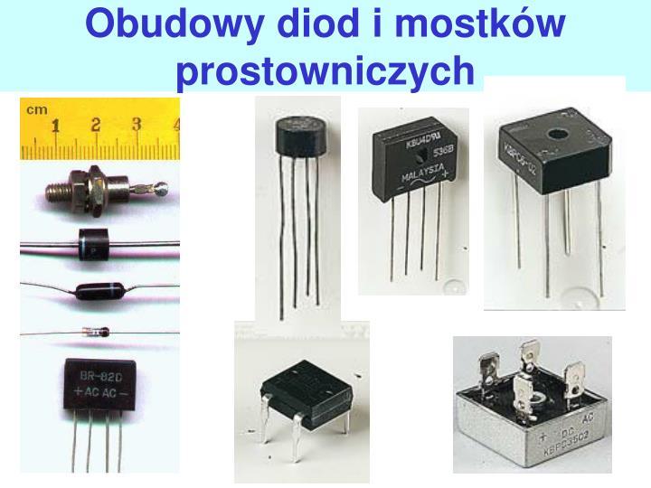 Obudowy diod i mostkw prostowniczych