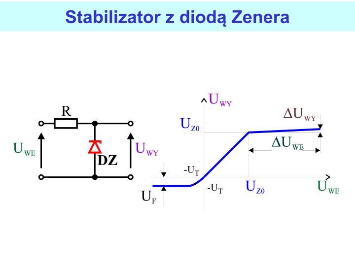 Stabilizator z diod Zenera