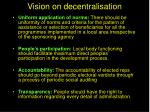 vision on decentralisation1