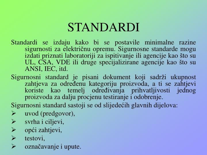 STANDARDI