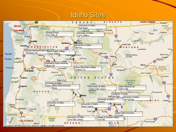 Idaho Sites