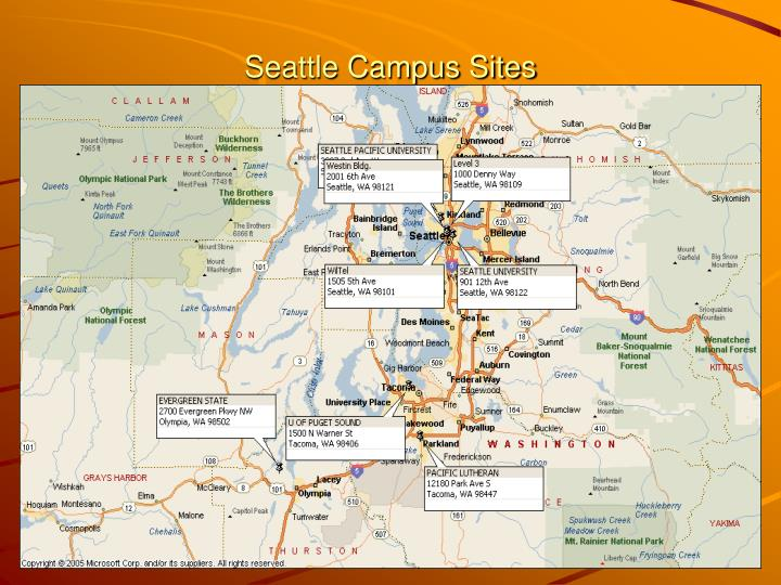 Seattle Campus Sites
