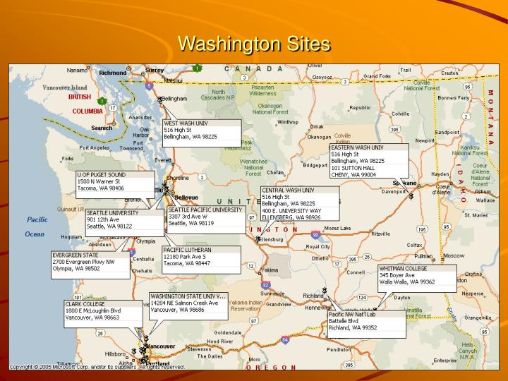 Washington Sites