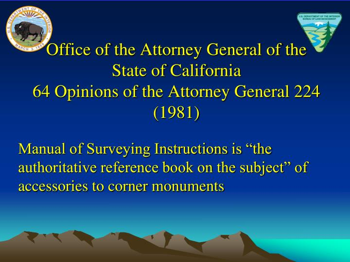 Office of the Attorney General of the