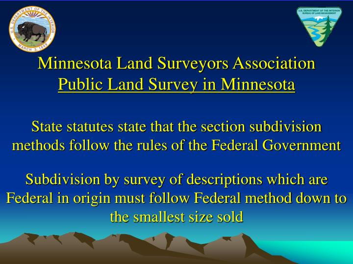 Minnesota Land Surveyors Association