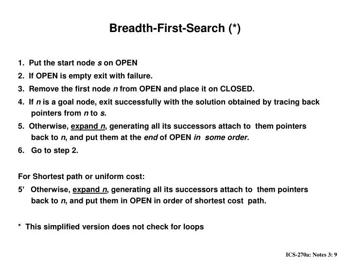 Breadth-First-Search (*)