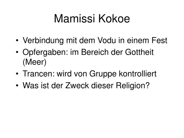Mamissi Kokoe