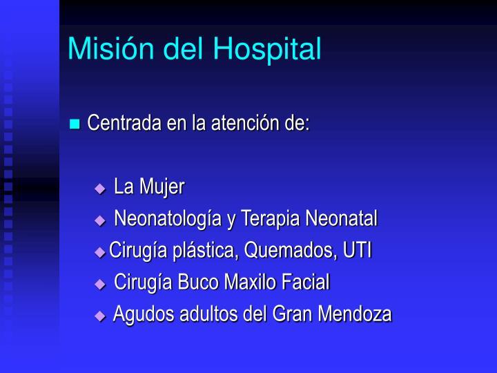 Misin del Hospital