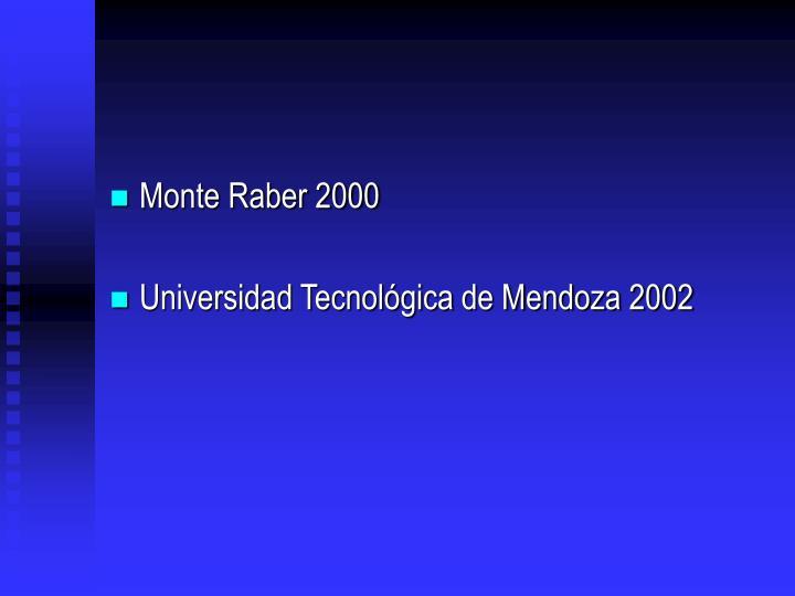 Monte Raber 2000