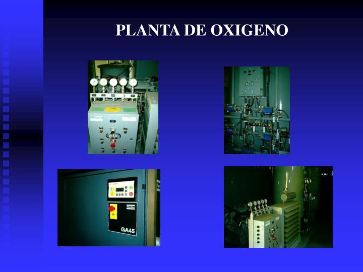 PLANTA DE OXIGENO