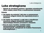 luka strategiczna