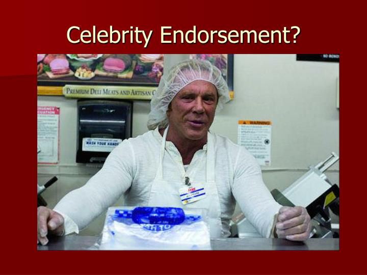 Ppt on celebrity endorsement