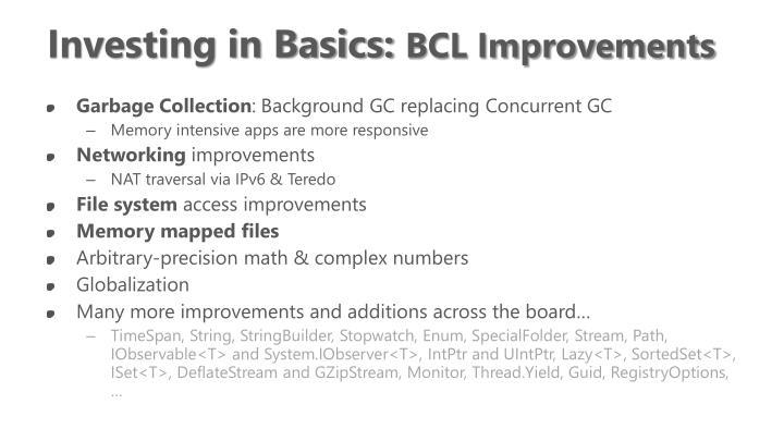 Investing in Basics: