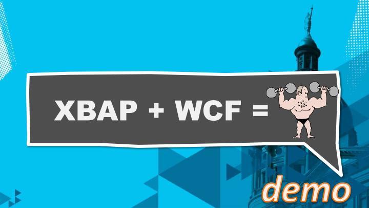 XBAP + WCF =