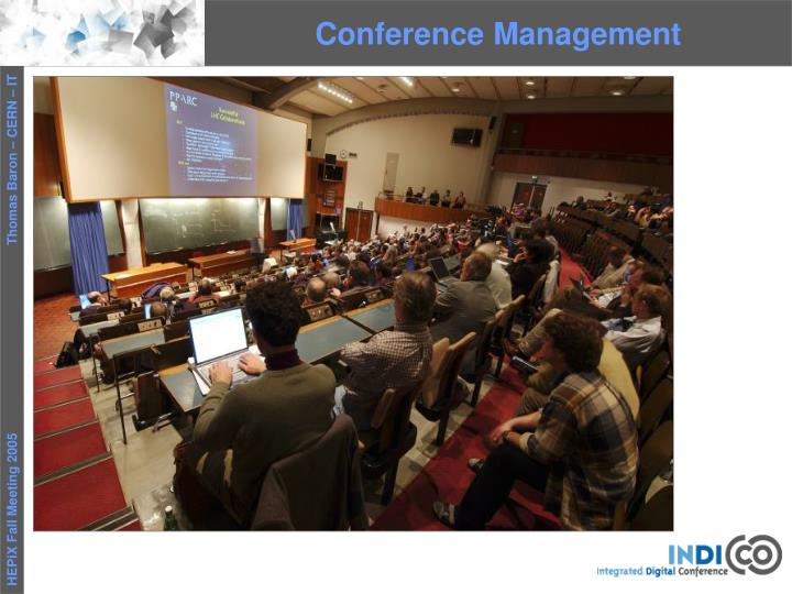 Conference Management