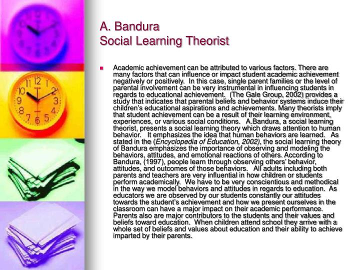 A. Bandura
