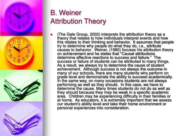 B. Weiner