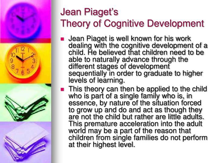 Jean Piaget's
