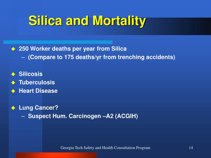 Silica and Mortality