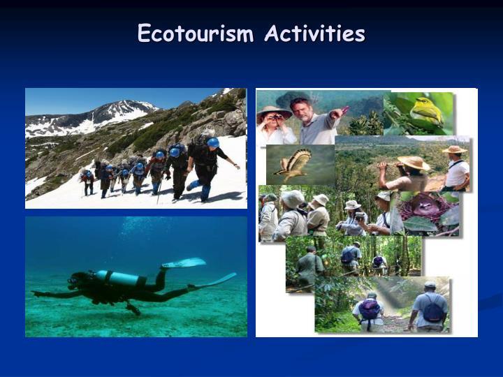 Ecotourism Activities