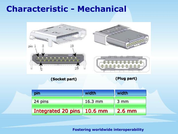 Characteristic - Mechanical