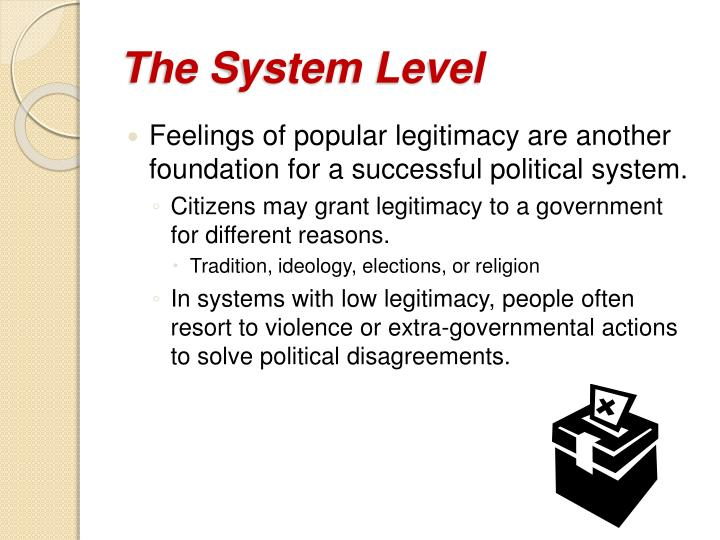 The System Level