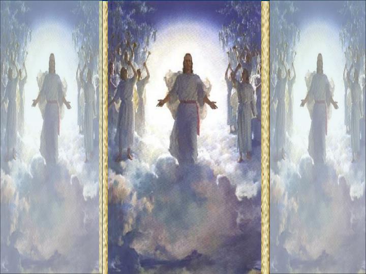 """Cristo é o centro do mundo angélico. Os anjos são seus. """"Pois nele tudo foi criado, nos céus e na terra, tanto os seres visíveis como os invisíveis, Tronos e Soberanias, Autoridades e Poderes ( todos são seres celestes)."""" (Col 1,16)"""