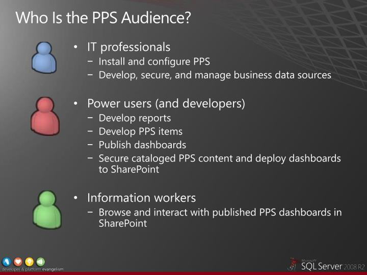 Who Is the PPS Audience?