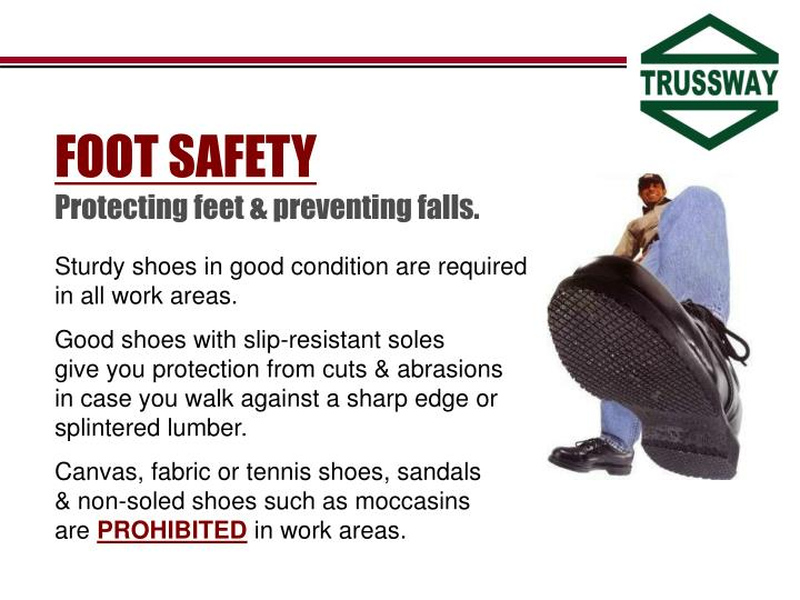 FOOT SAFETY