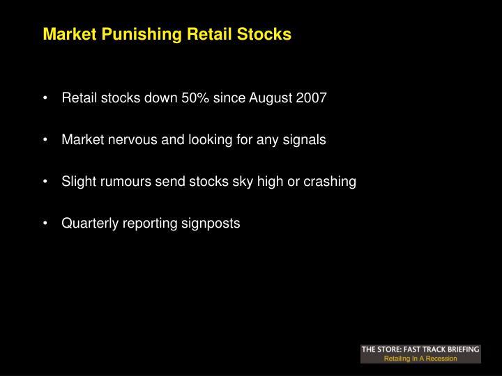 Market Punishing Retail Stocks