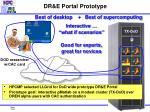 dr e portal prototype