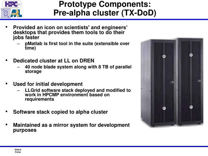 Prototype Components:
