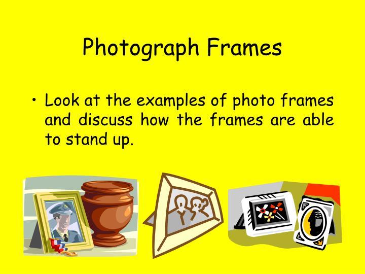 Photograph Frames