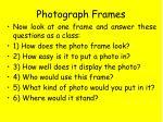 photograph frames1